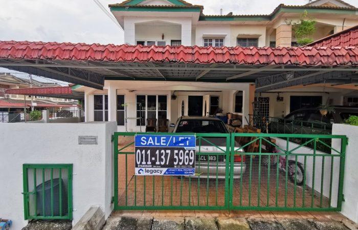 rumah untuk dijual di Taman Sri Ampang Ipoh