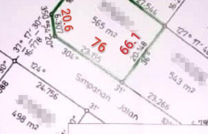 TANAH LOT DI CHEMOR UNTUK JUAL RM70K